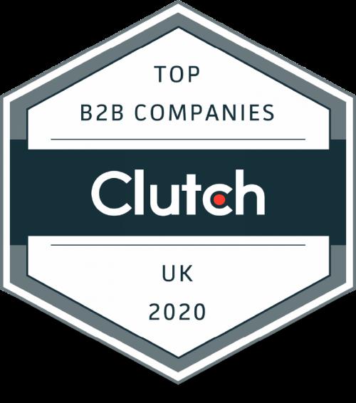 Clutch Top B2B Companies 2020 logo