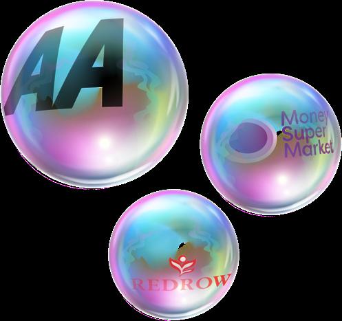 Premium brands bubbles
